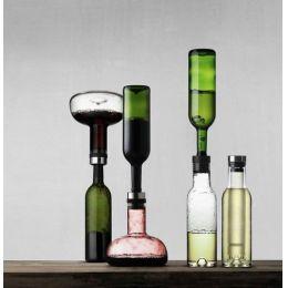 Dekantierkaraffe Wine Breather & Cool Breather Set Dekanter Karaffe Wein Weinkaraffe Weindekanter
