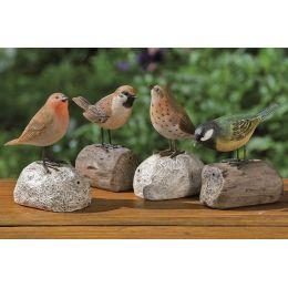 Bewegungsmelder Vogel Garten Deko Dekoration Vogelgezwitscher
