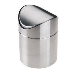 Tischabfallbehälter mit Schwingdeckel Abfalleimer Kleinabfälle Badezimmerabfall Kosmetikeimer