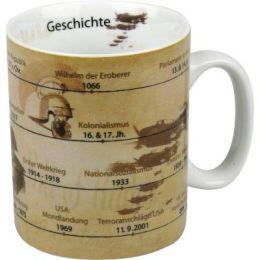 Becher Geschichte Tasse Porzellan Schule Kaffeebecher Kaffeetasse Kaffee Porzellantasse