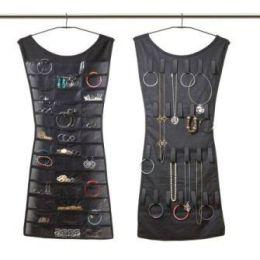 Schmuckaufbewahrer schwarz Little Black Dress Hängeaufbewahrung Schmucksammler Schmuckbaum Organizer