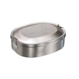 Vesperdose Break Edelstahl Lunchbox Brotzeitdose Vesperbox Brotzeitbox Frühstücksdose