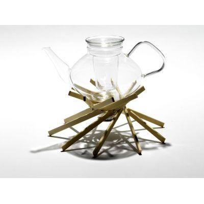 Stövchen aus Holz, Ahorn oder Nussbaum | 570841990