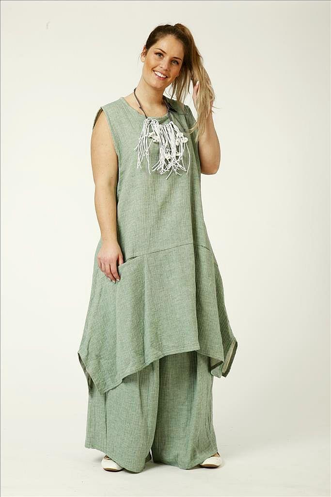 new arrival 35903 a131c Tunika-Kleid Baumwolle-Viskose reduziert von AKH Fashion