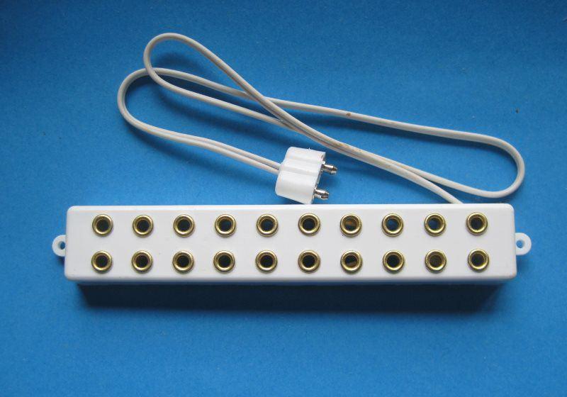 Verteilerleiste 10-fach für 3,5 V Puppenhaus Beleuchtung - Trafo ...