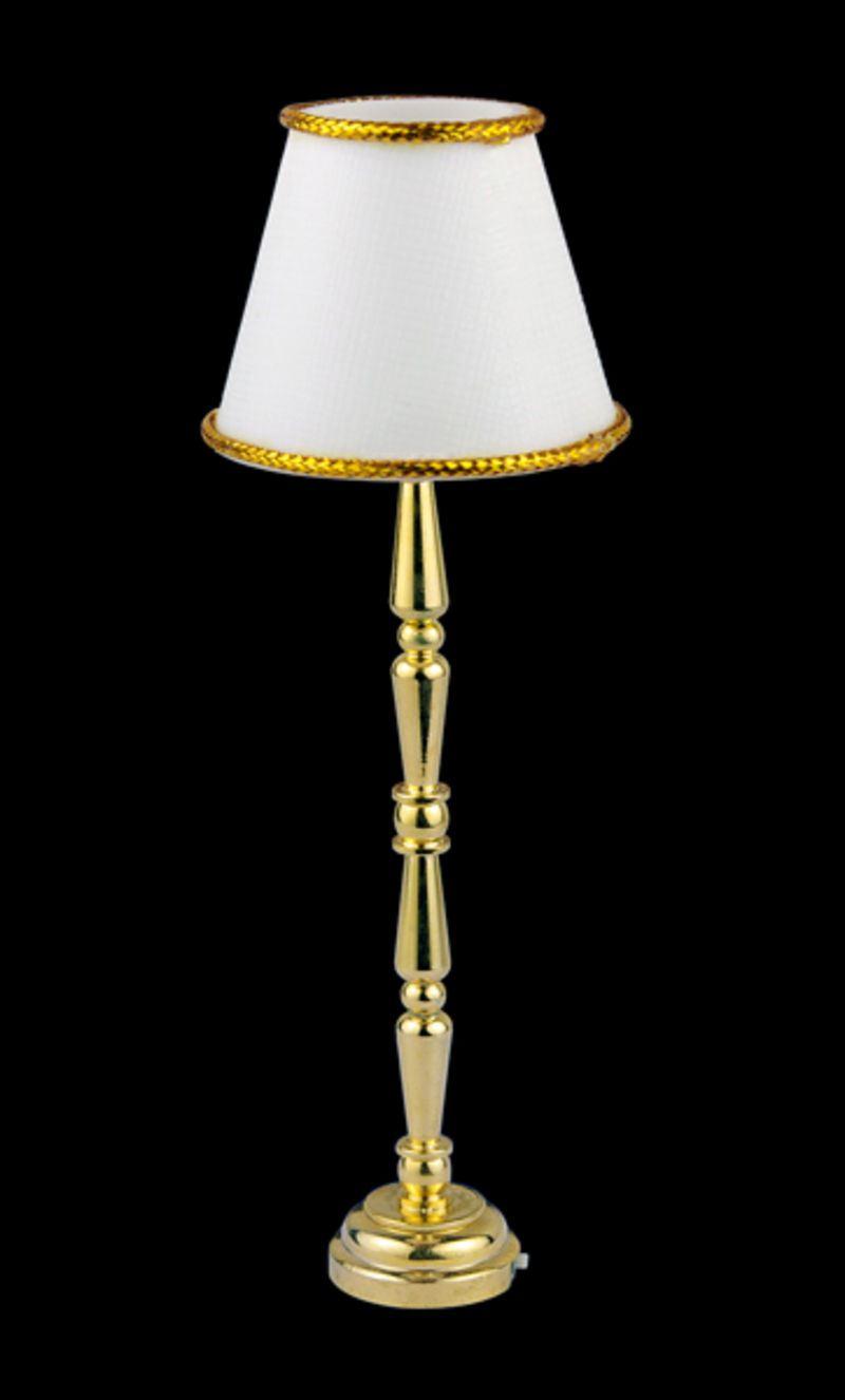 stehlampe led weiss puppenhaus beleuchtung miniaturen 1 12 puppenhausm bel lafeo. Black Bedroom Furniture Sets. Home Design Ideas