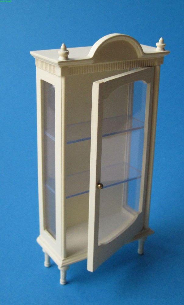 vitrinen verschiedene farben f r wohnzimmer arbeitszimmer oder b ro louis xvi puppenm bel 1 12. Black Bedroom Furniture Sets. Home Design Ideas