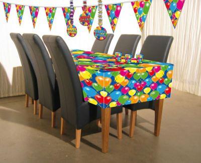 tischdecke ballons luftballons ca 130 x 180 cm von folat bv. Black Bedroom Furniture Sets. Home Design Ideas