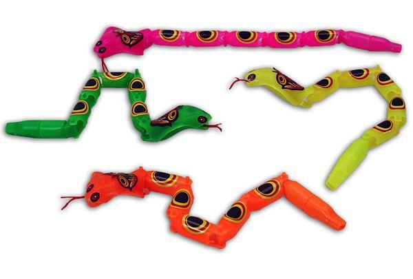 Gliederschlange Kobra - ca. 26 cm - vier Farben erhältlich - Figuren ...