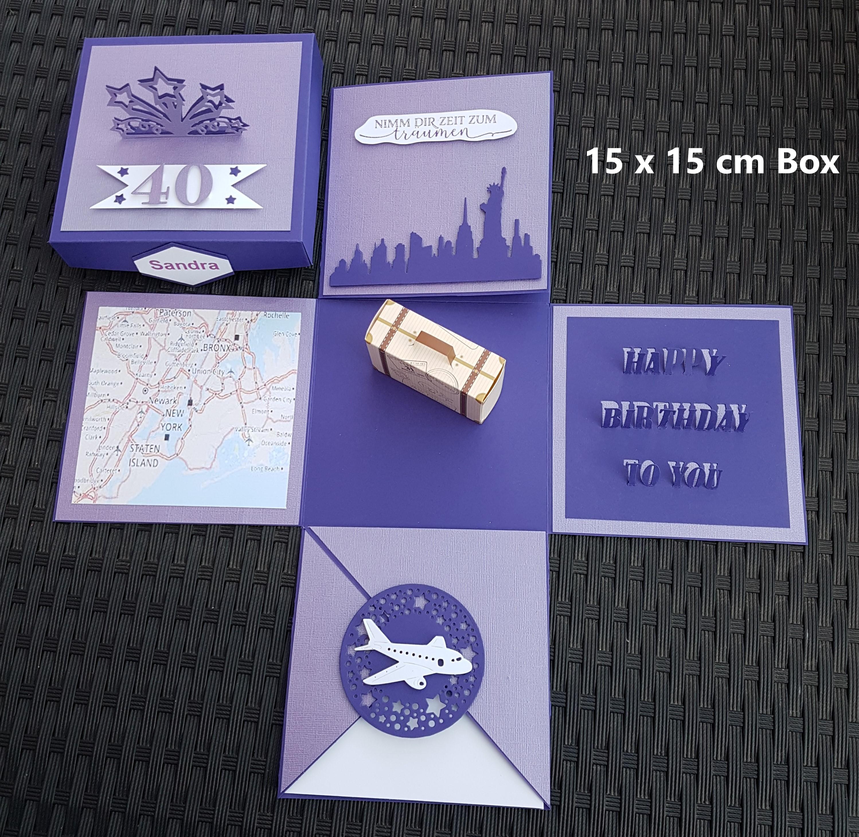 Explosionsbox Städtereise
