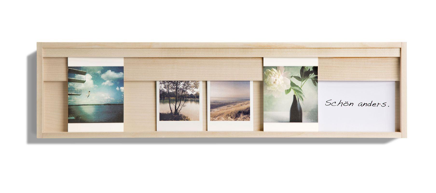Karten- und Bilderrahmen aus Ahorn von sidebyside-Design
