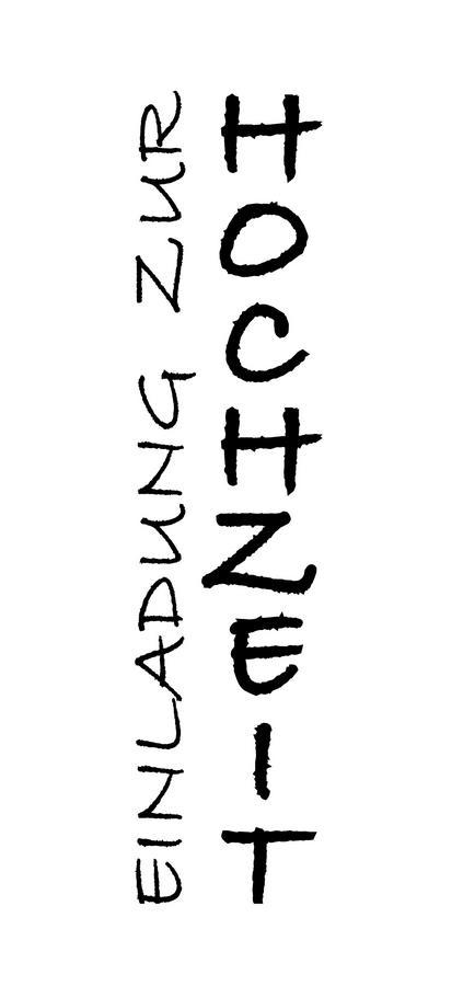 Stempel U0027Einladung Zur Hochzeit U0027
