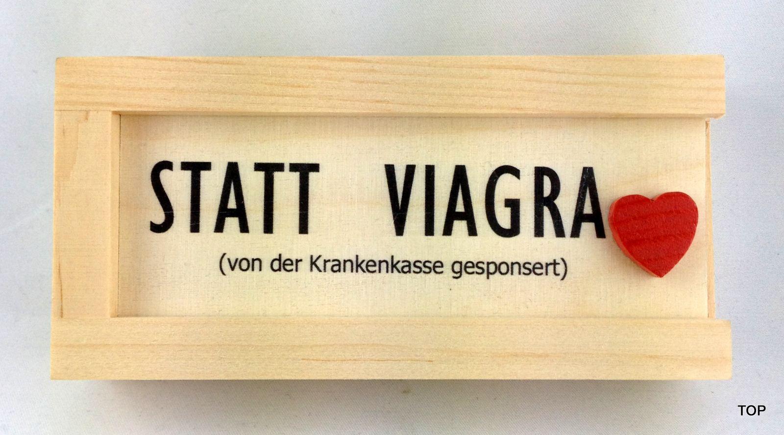 Holzkiste Statt Viagra Uberraschung Zum Geburtstag Weihnachten
