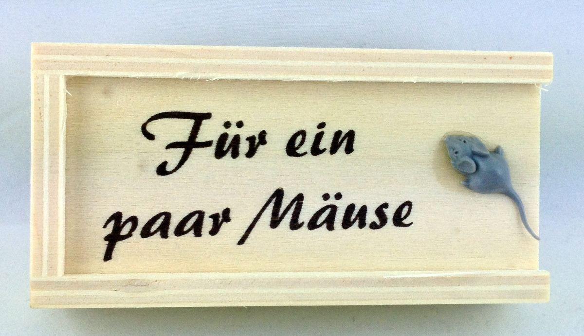 Schachtel Holz Party Feste Geldgeschenke Fur Ein Paar Mause