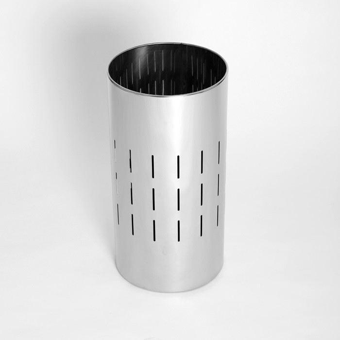 Regenschirmständer Schirmständer Regenschirm Ständer Metall Silber hochwertig