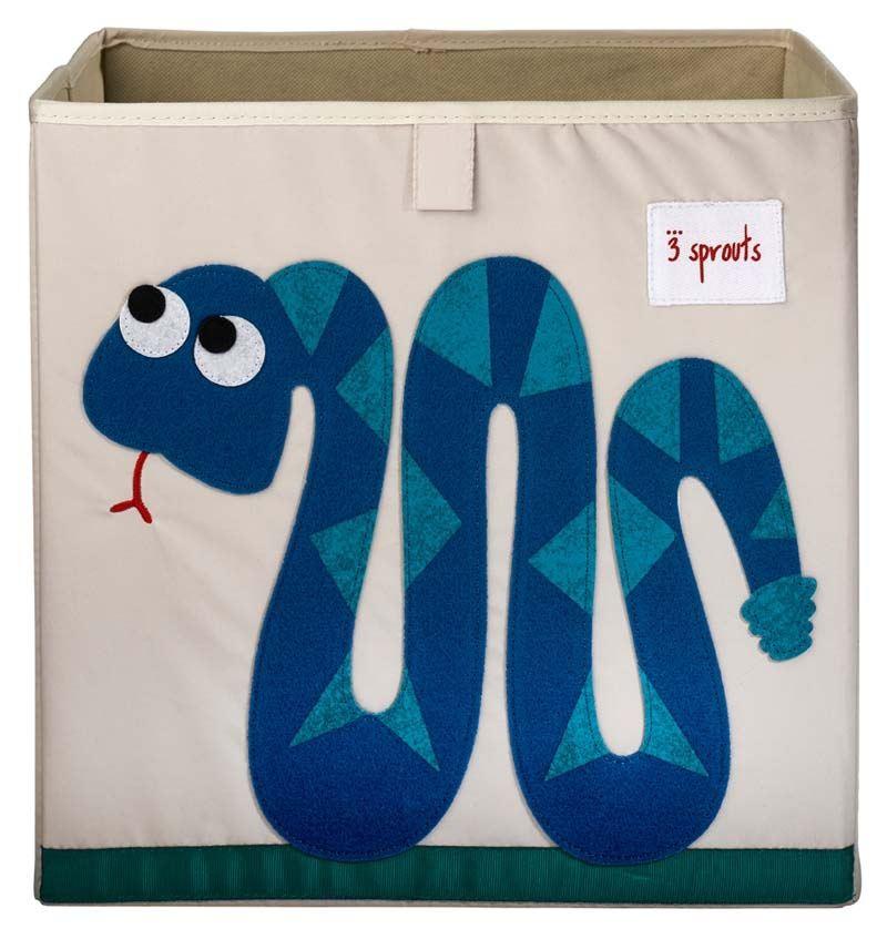 Aufbewahrungsbox Schlange Kinder Kinderzimmer Ordnungsbox ...