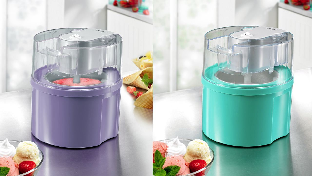 eismaschine fixx eis selber machen softeismaschine speiseeismaschine ice cream maker maschine. Black Bedroom Furniture Sets. Home Design Ideas