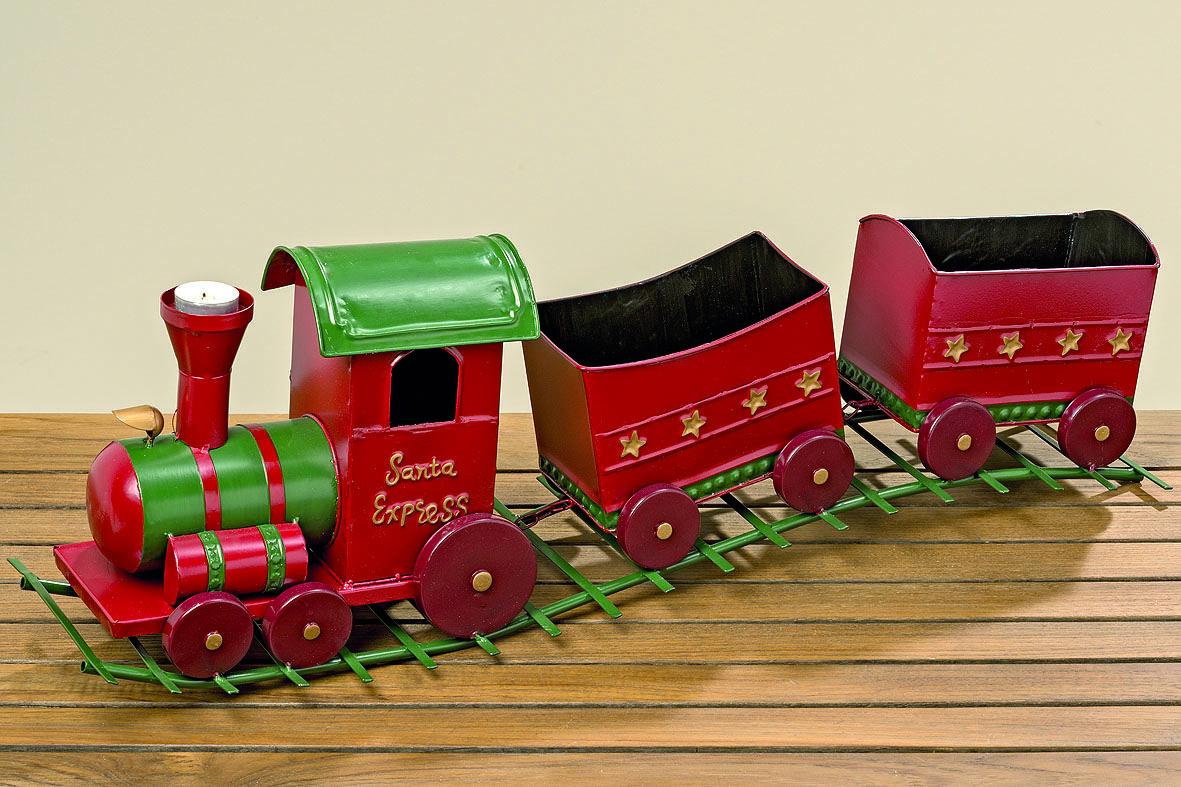 Eisenbahn Weihnachtsdeko.Zug Sapri Rot Dekoration Grün Weihnachten Weihnachtsdeko Eisenbahn Advent