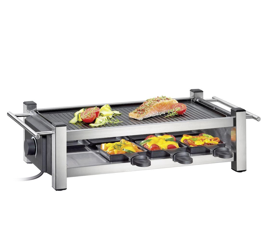 Küchenprofi Raclette Pfännchen Ersatz ~ raclette taste 8 pfännchen racletteschaber grillplatte tischgrill lafeo