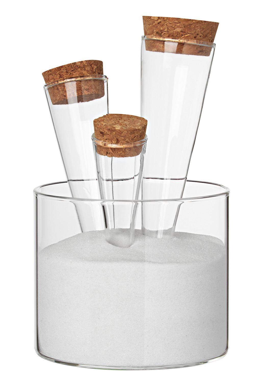Endlich Sommer Sommersand Glasschale Gläser Sand Dekosand Dekoration